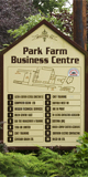 Park Farm Business Centre sign